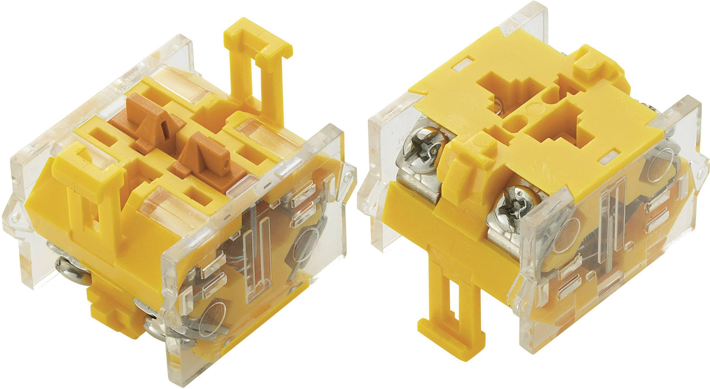 Spínacie kontaktné teleso TRU COMPONENTS LAS0-A, 2 rozpínacie, bez aretácie, 500 V/AC, 1 ks