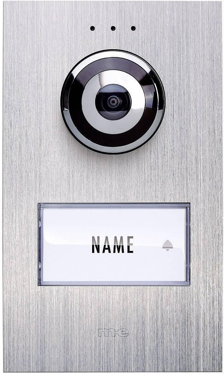 Káblový video dverový telefón m-e modern-electronics VDV 610 compact VDV 610 compact, nerezová oceľ