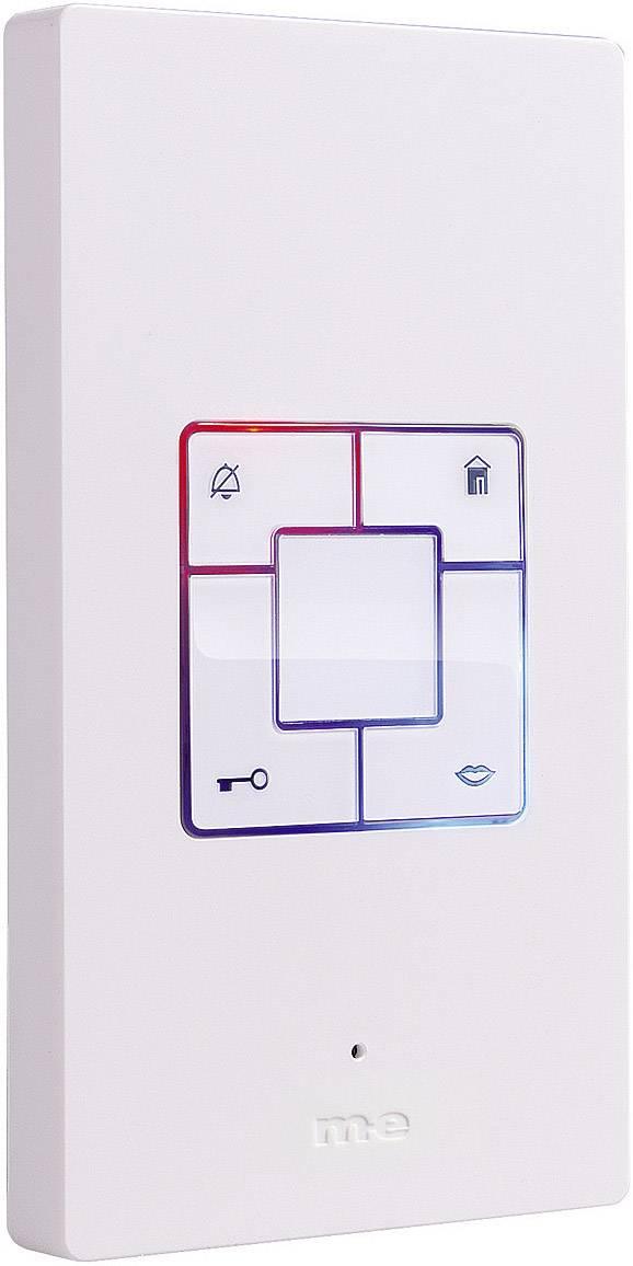 Káblový dverový telefón m-e modern-electronics Vistus AD 400, biela
