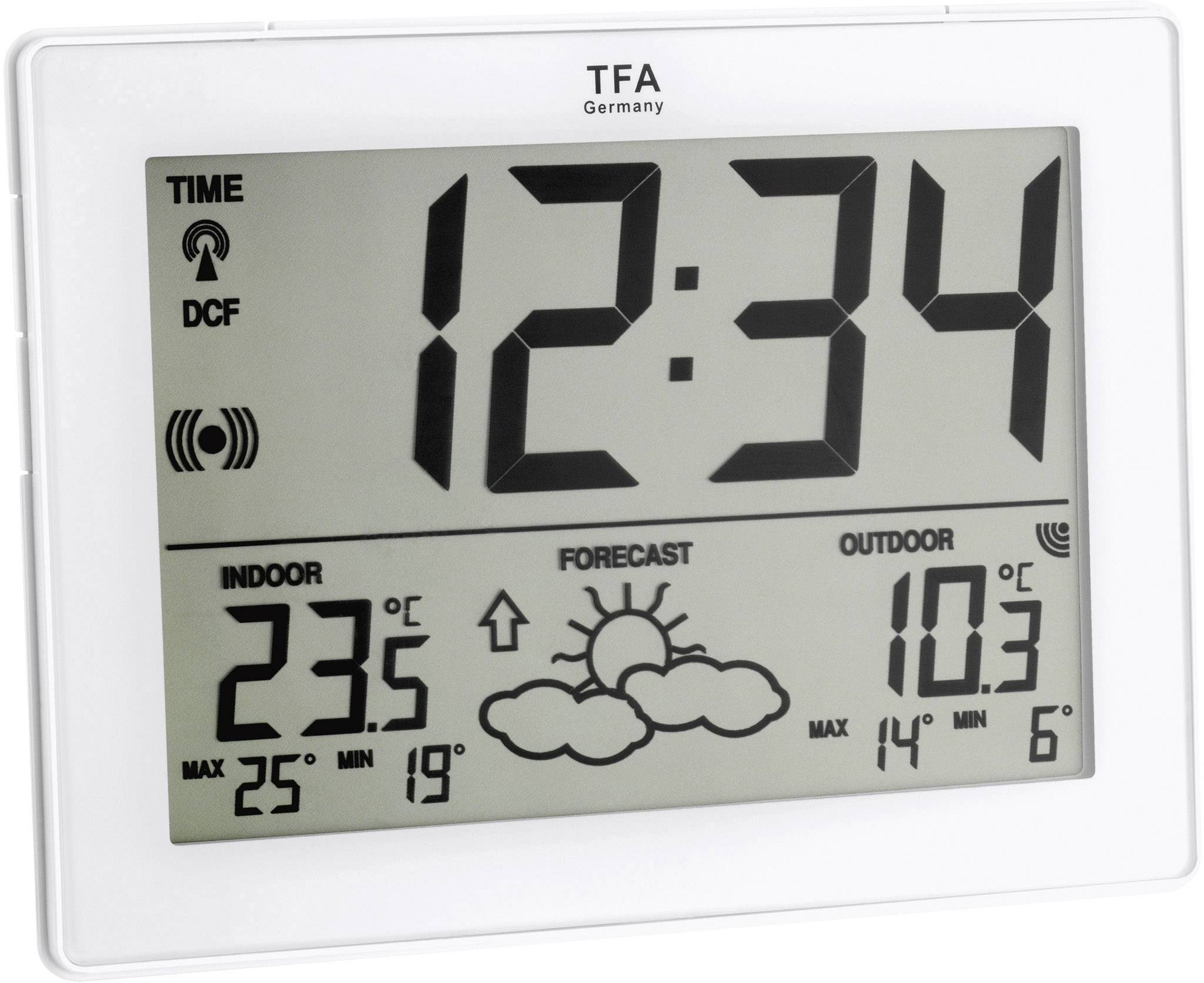 Bezdrátová IT meteostanice TFA, 35-1125-02-IT, bílá