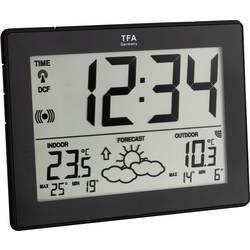 Digitální bezdrátová meteostanice s DCF hodinami, TFA Dostmann 35-1125-01-IT, černá