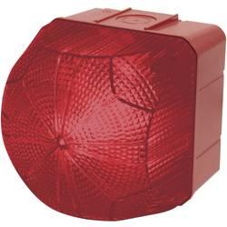 Signální osvětlení LED Auer Signalgeräte QBX, červená, červená 24 V/DC, 24 V/AC, 48 V/DC, 48 V/AC