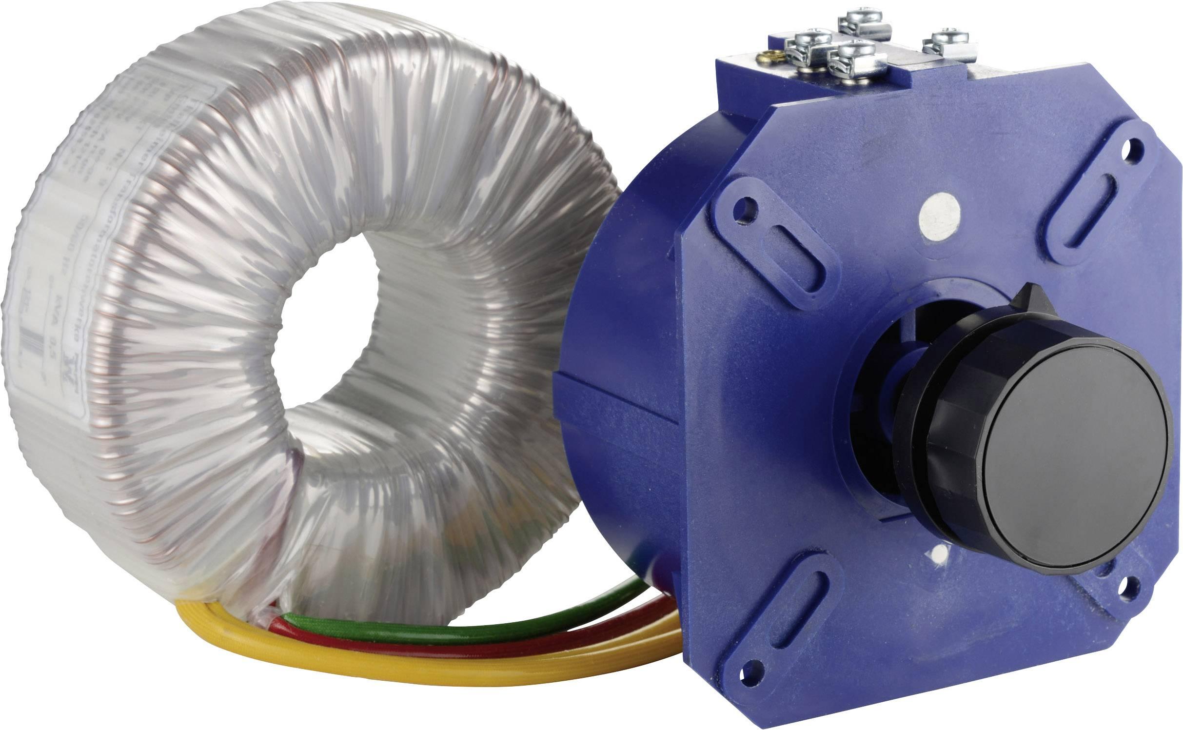 Úsporný nízkonapěťový transformátor Thalheimer KSS 103, 1 - 42 V, 2,5 A