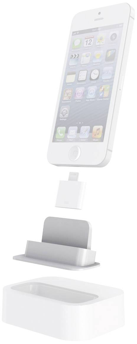 Dokovacia stanica na iPhone PhotoFast Lightning Mount, biela