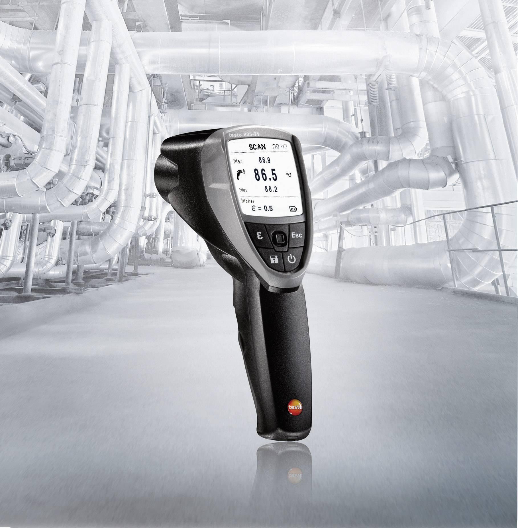 IR teplomer testo 835-T1, -30 až +600 °C