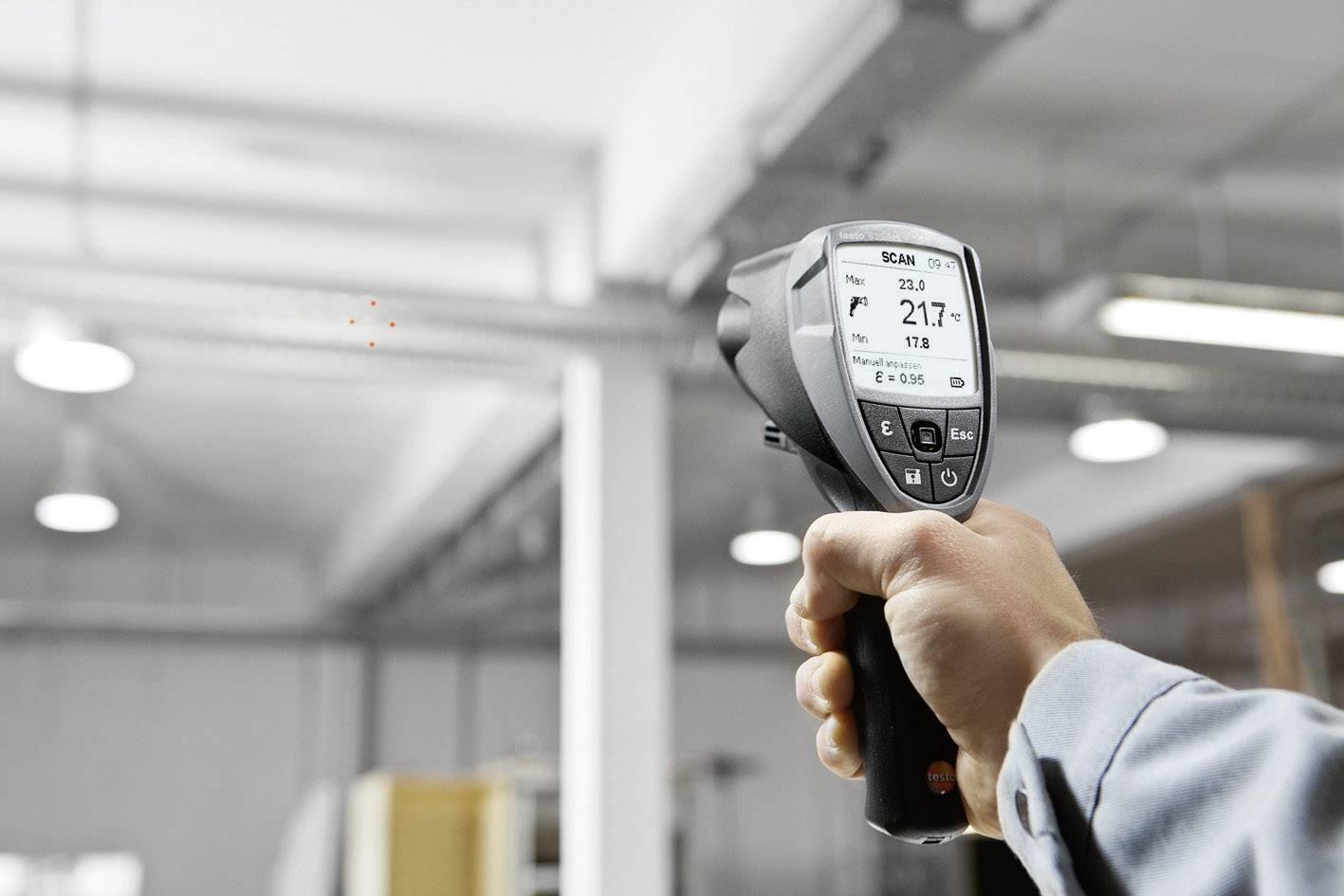 IR teplomer testo 835-H1, -30 až +600 °C