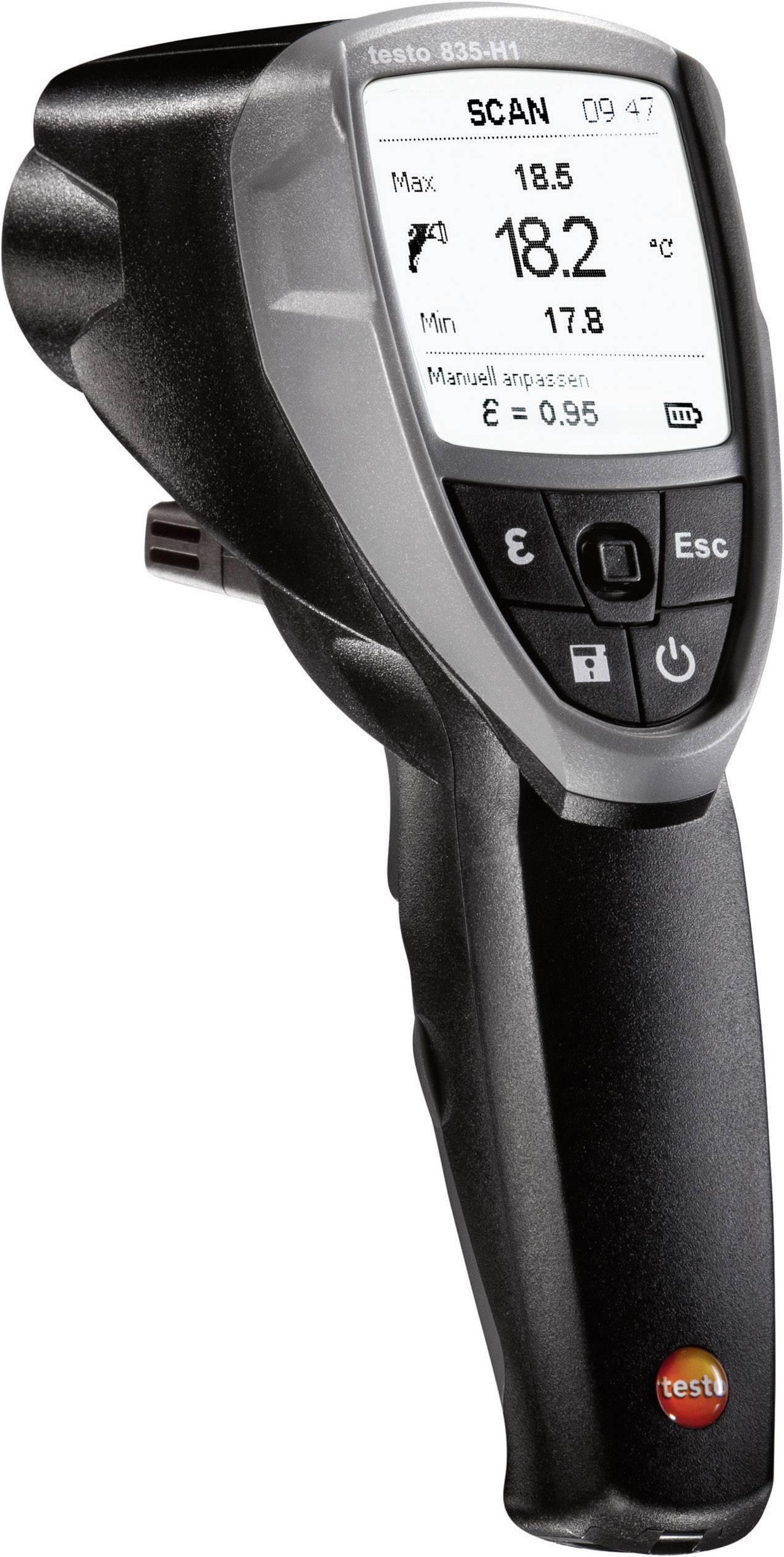 Infračervený teploměr 835-H1 Optika 50:1 -30 až +600 °C kontaktní měření
