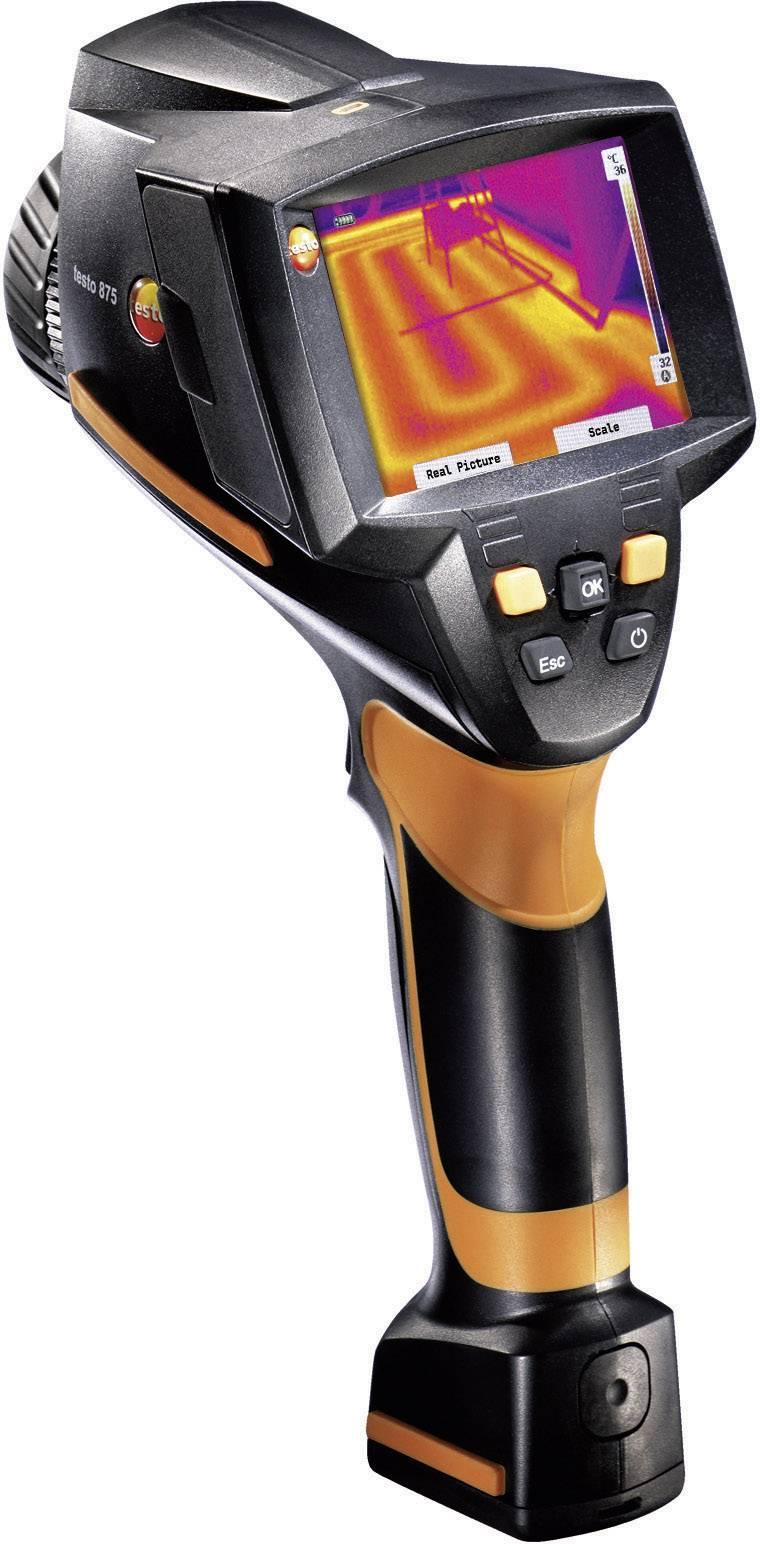 Termálna kamera testo 875-2i 0563 0875 V3+B1+S1 s technológiou SuperResolution a so senzorom vlhkosti, 320 x 240 pix