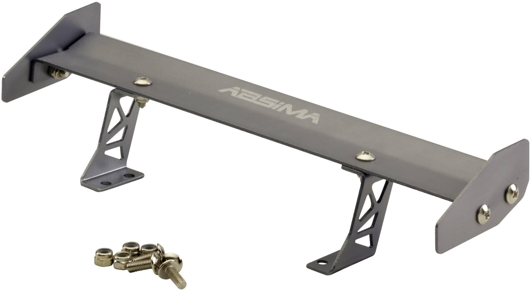 Zadný spojler hliníkový pre modely Absima 2320008, 1:10, hliník