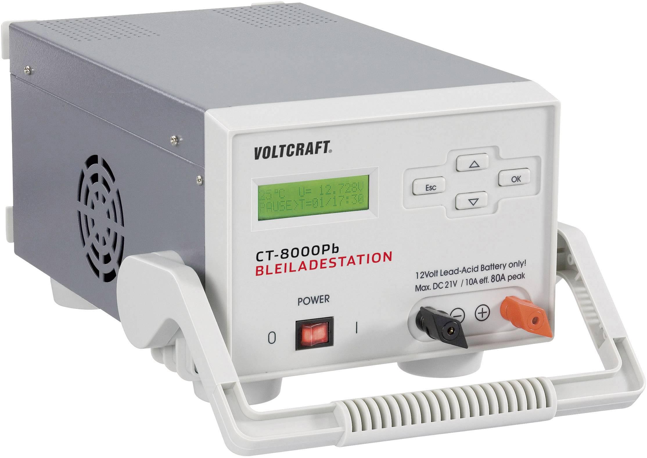 Nabíjecí stanice pro olověné akumulátory Voltcraft CT-8000Pb