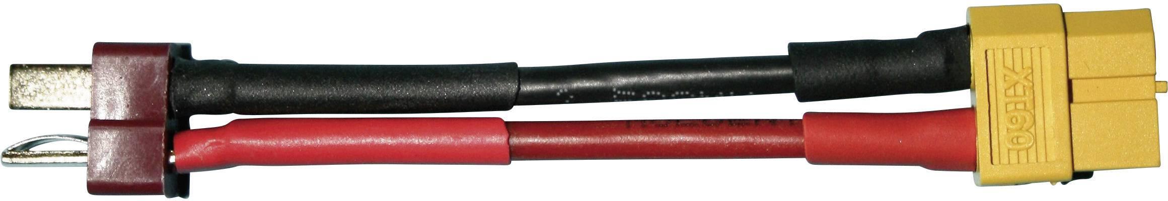 Redukce Modelcraft T zástrčka/ XT-60 zásuvka, 700 mm, 2,5 mm²