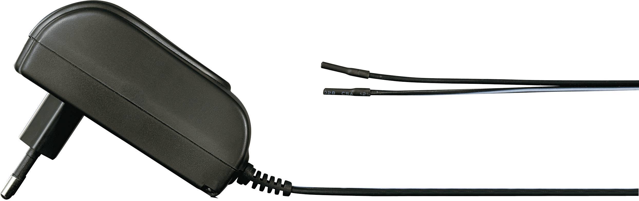 Zásuvkový adaptér so stálym napätím VOLTCRAFT SNG 12/1500-OW, 18 W, 1500 mA