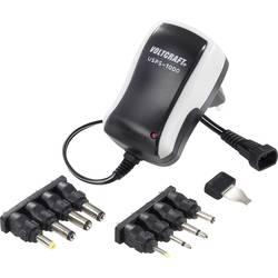 Sieťový adaptér s redukciami Voltcraft USPS-1000, 3 - 12 V/DC, 12 W