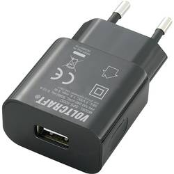 USB nabíjačka do zásuvky (230 V) VOLTCRAFT SPS-1000 USB, čierna, 1000 mA