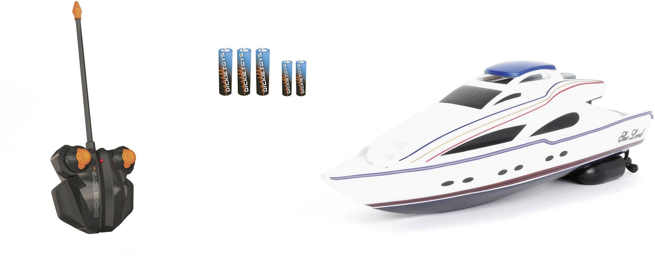 RC model motorového člna Dickie Toys Sea Lord, 340 mm, 100% RTR