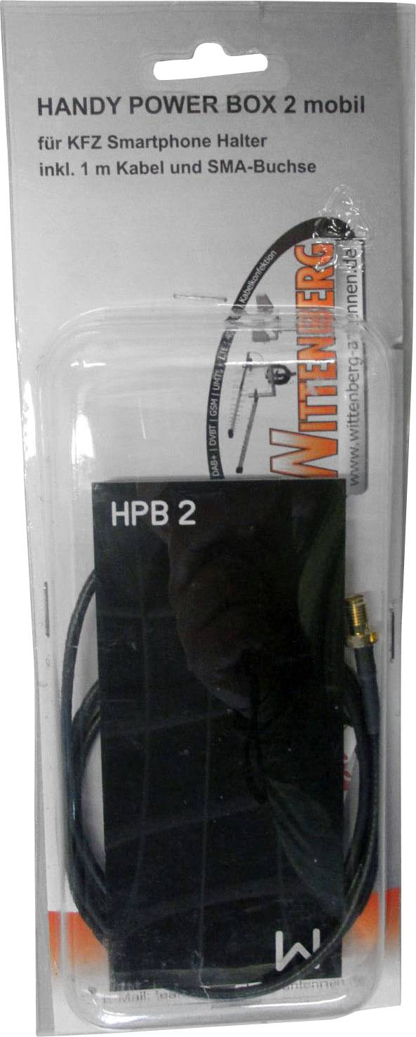 Zosilňovač signálu pre mobilné telefóny Wittenberg Antennen Handy Power Box 2, FME zástrčka