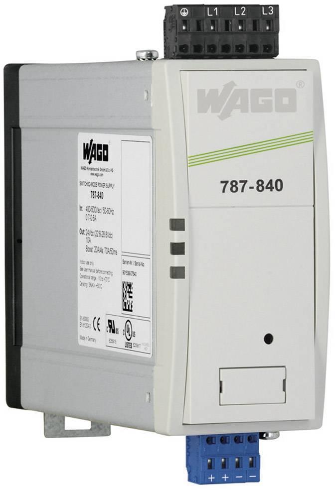 Zdroj na DIN lištu Wago Epsitron PRO Power 787-842, 20 A, 24 V/DC