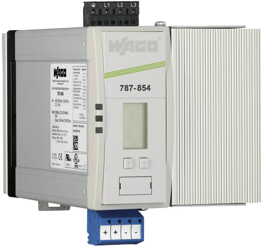 Zdroj na DIN lištu Wago Epsitron PRO Power 787-854, 40 A, 24 V/DC