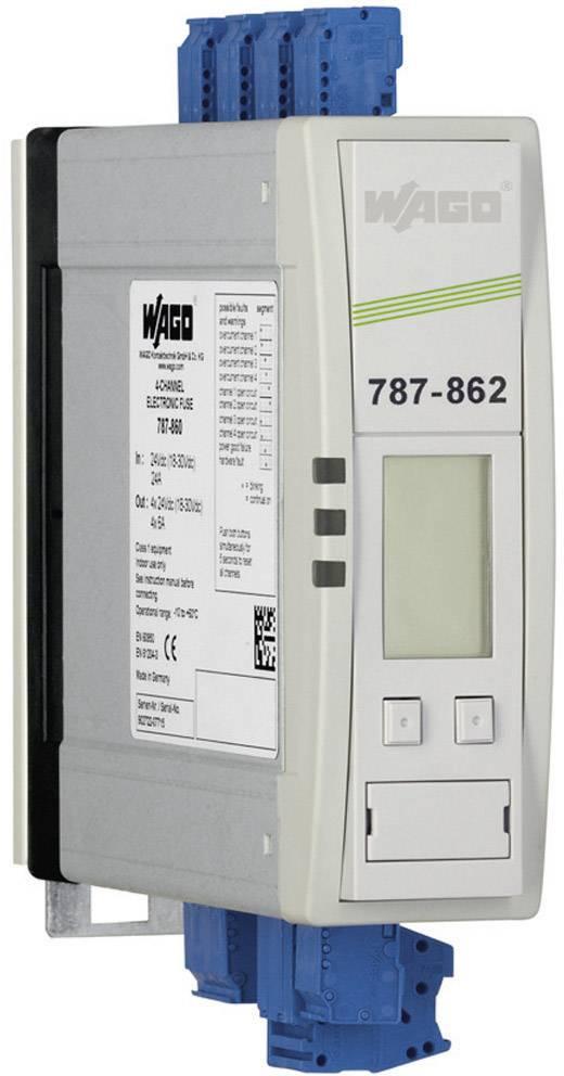 Jistič na DIN lištu Wago Epsitron 787-862, 4x 1 - 10 A, 4x 24 V/DC