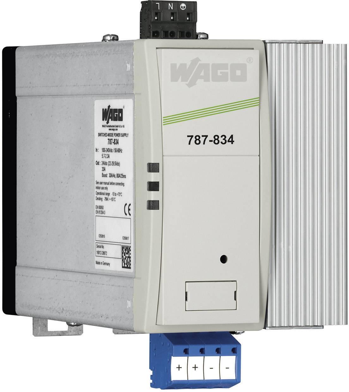 Zdroj na DIN lištu Wago Epsitron PRO Power 787-834, 10 A, 24 V/DC