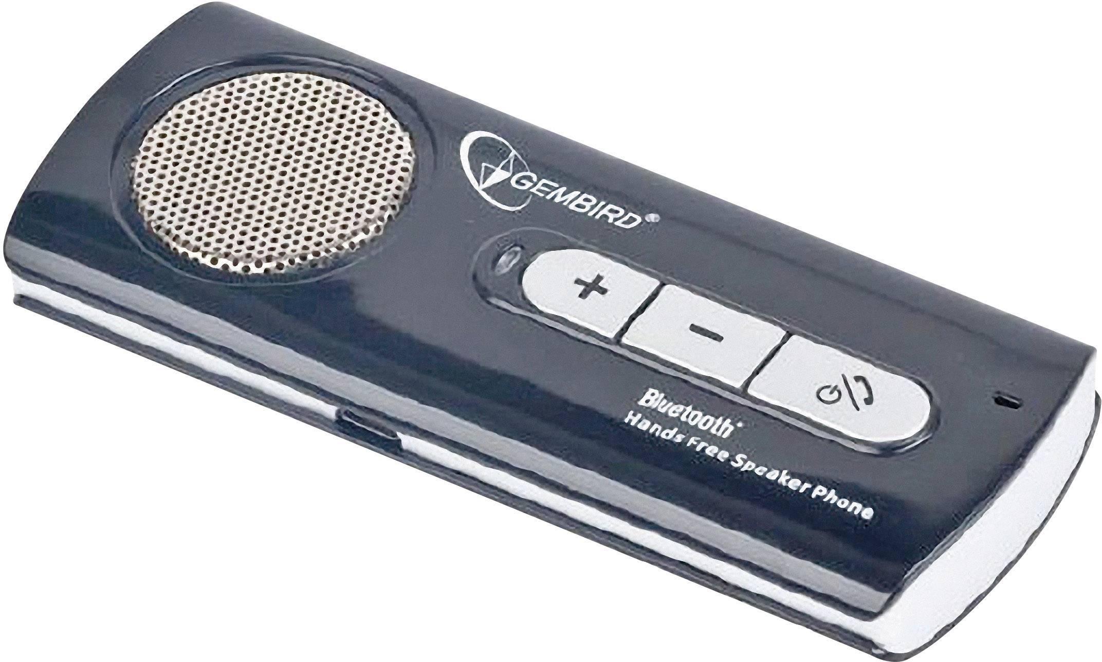 Handsfree s Bluetooth Gembird BTCC002, Max. čas hovoru 7.5 h