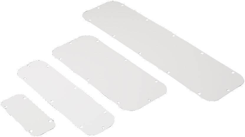 Montážní deska Rittal KL 1158.500, (d x š) 221 mm x 90 mm, ocelový plech, světle šedá , 6 ks