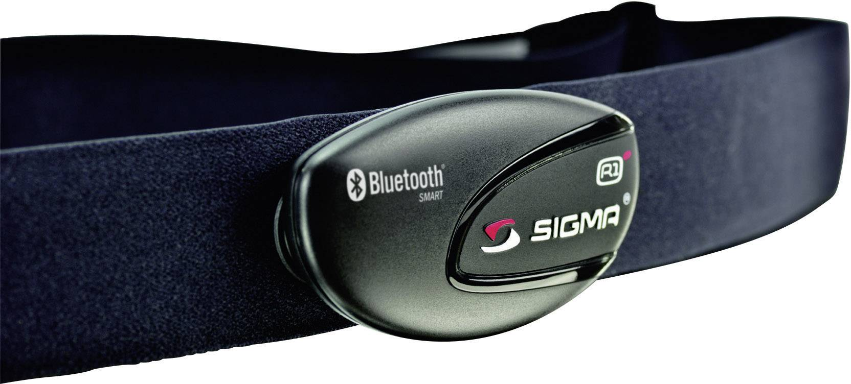 Hrudný pás Sigma R1 Blue 20328, Bluetooth
