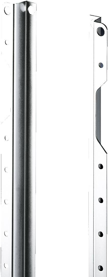 Montážna lišta s otvormi Rittal SZ 2310.076, s otvormi, 698 mm, oceľový plech, 20 ks