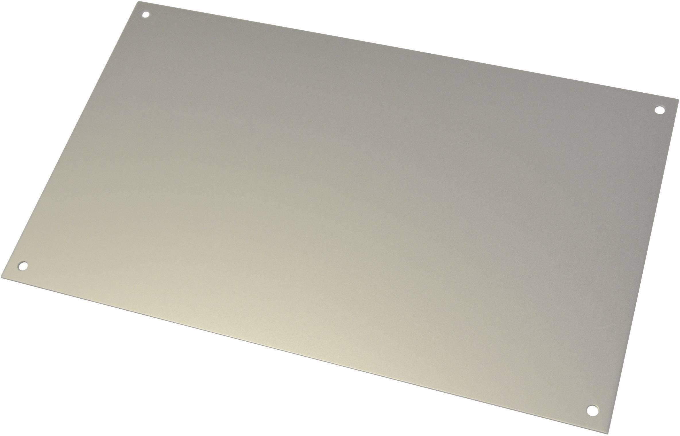 Čelný panel Bopla FAE310/350, hliník, hliník, 1 ks