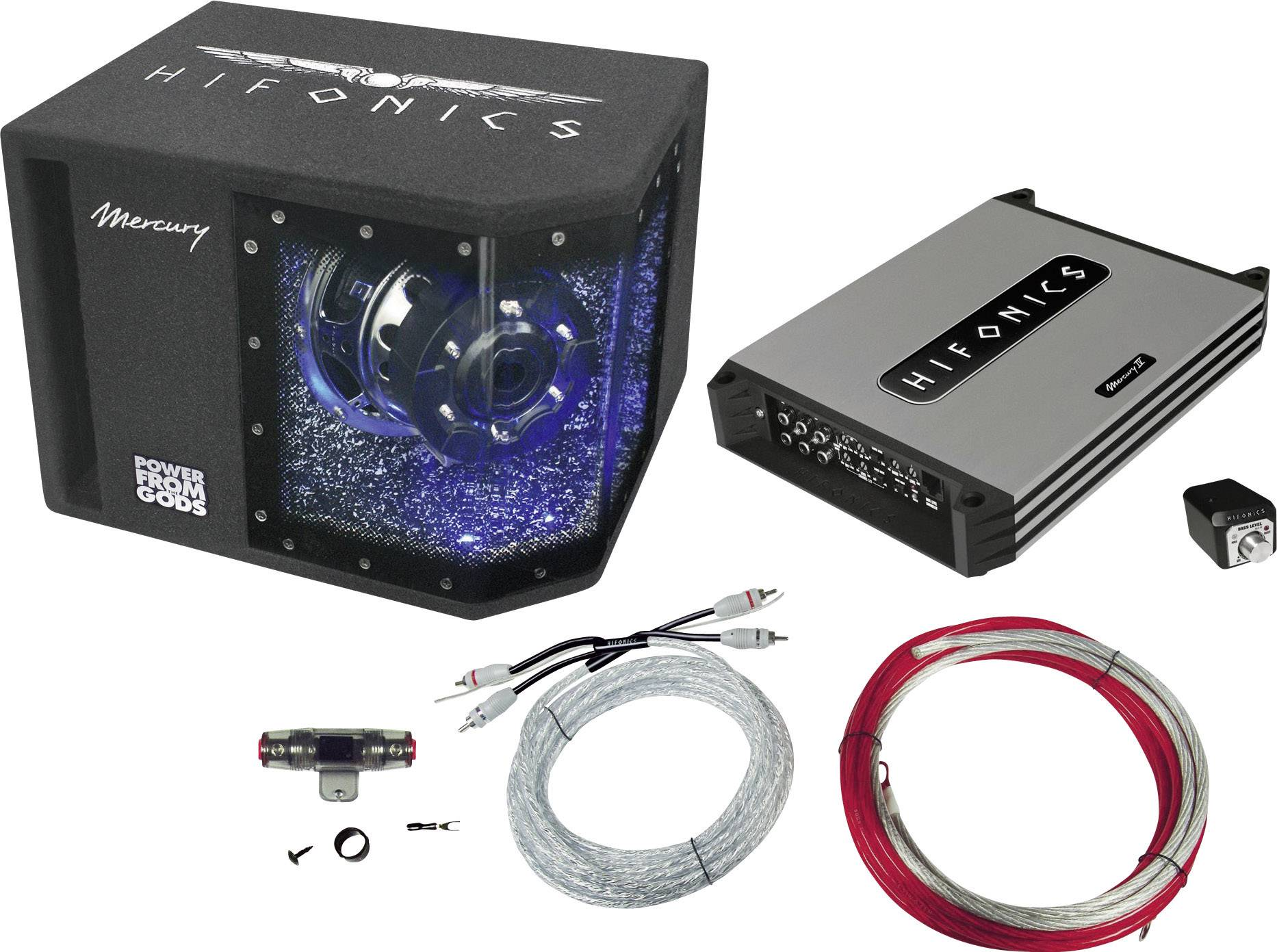 Hi-Fi súprava do auta Hifonics MBP1000.4