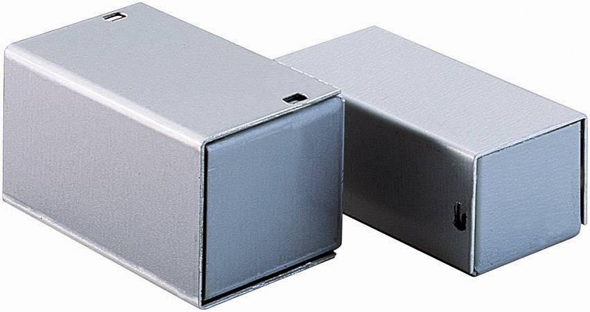 Malé hliníkové pouzdro TEKO 4 A, (š x v x h) 140 x 28 x 72 mm, stříbrná (A)