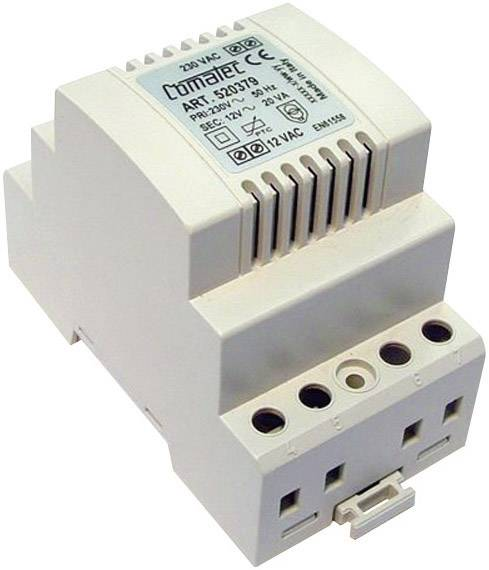 Napájecí zdroj na DIN lištu Comatec, TBD202012P, 12 V/AC, 20 W