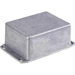 Tlakem lité hliníkové pouzdro Hammond Electronics 1590FFLBK, (d x š x v) 188 x 188 x 67 mm, černá