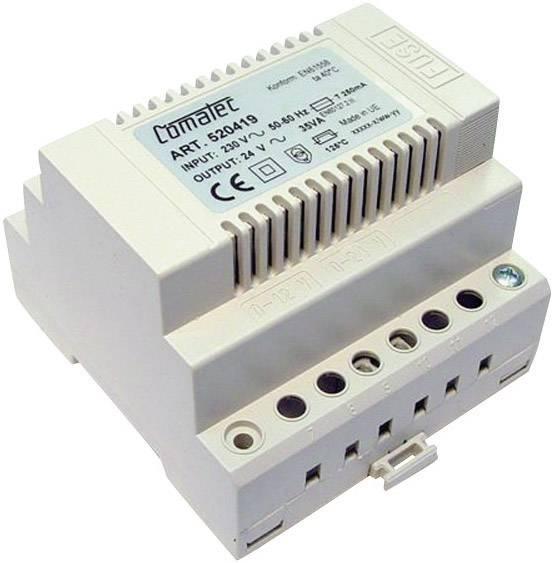 Napájecí zdroj na DIN lištu Comatec, TBD203524F, 24 V/AC, 35 W