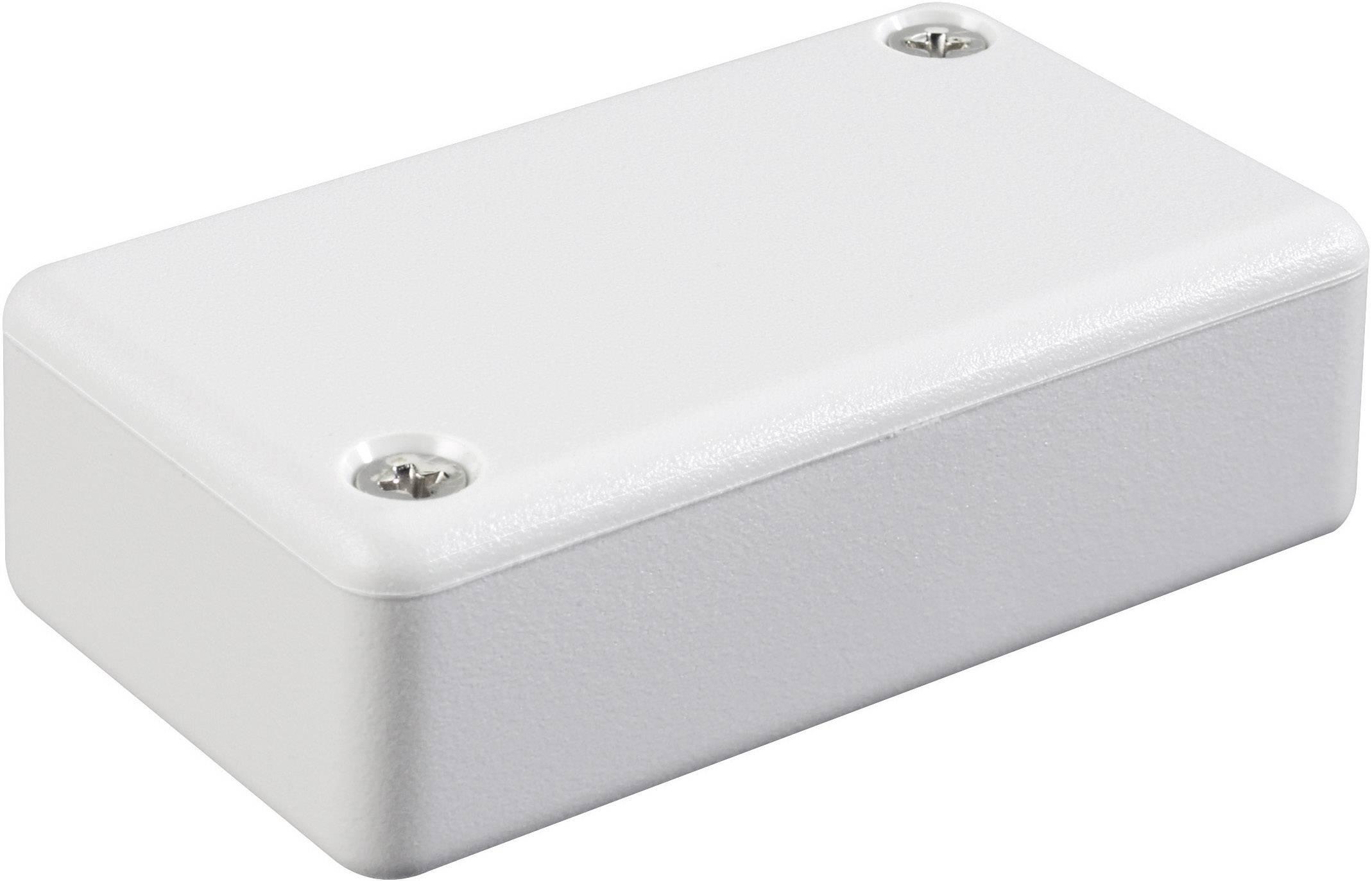 Euro krabice Hammond Electronics 1551FGY 1551FGY, 50 x 35 x 15 , ABS, svetlo sivá (RAL 7035), 1 ks