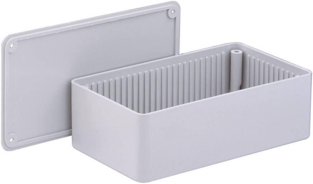 Euro krabice WeroPlast 1010 1010, 150 x 80 x 50 , ABS, sivá, 1 ks