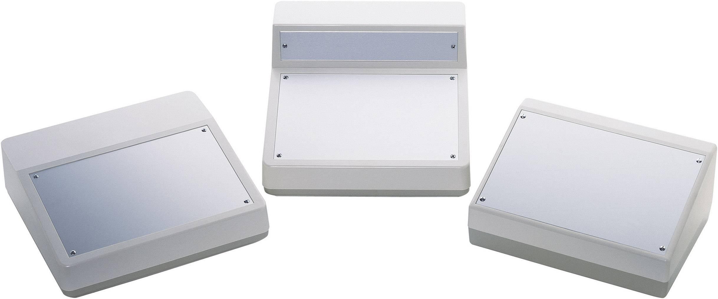 Skrinka na ovládací pult OKW AS054468, 228 x 76 x 216 mm, ABS, hliník, hliník (eloxovaný), 1 ks