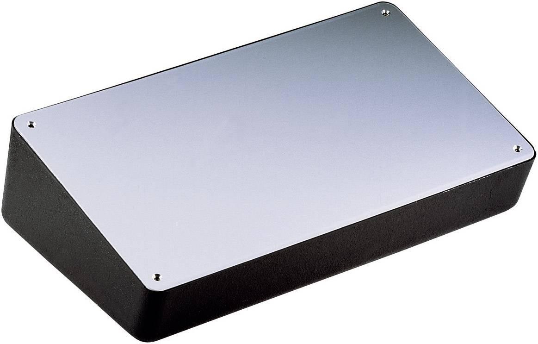 Pultové pouzdro polystyrolové WeroPlast, (d x š x v) 308 x 167 x 84/47 mm, grafit (HITPULT 3003)