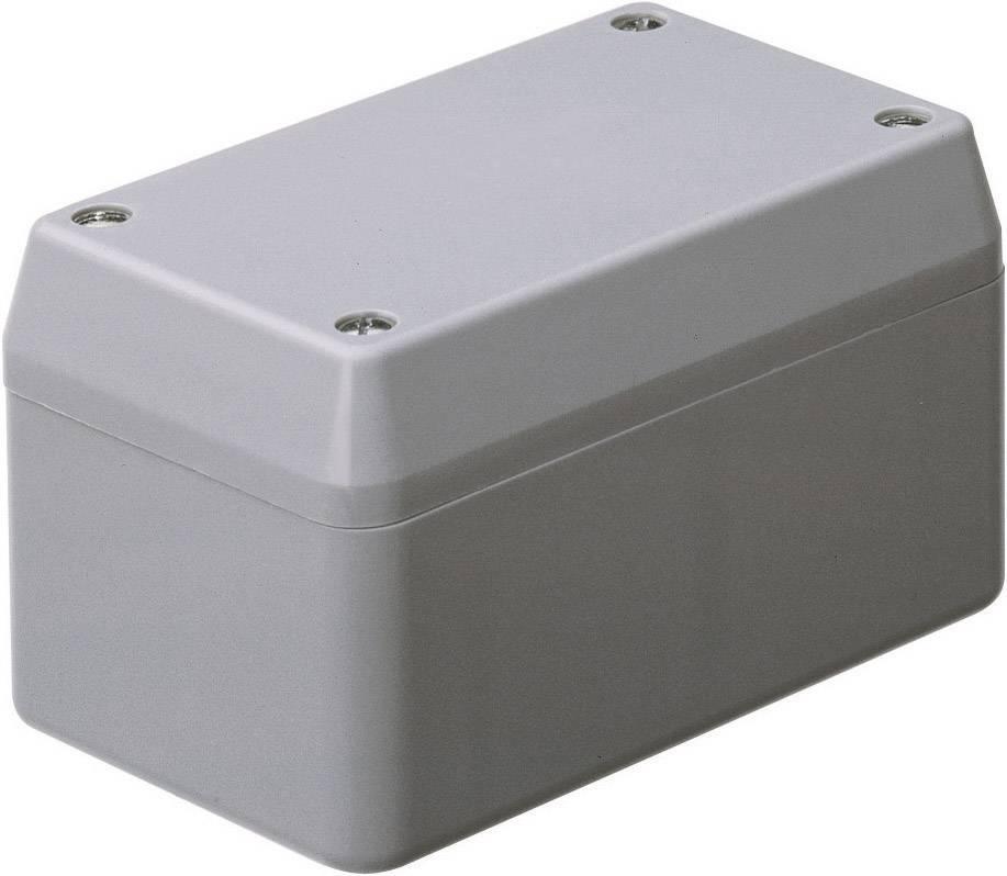 Univerzální pouzdro polystyrolové WeroPlast, (d x š x v) 130 x 75 x 61 mm, šedá
