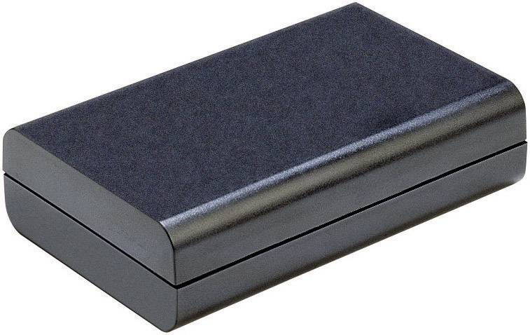 Plastové pouzdro Strapubox 2515 sw, (d x š x v) 124 x 30 x 72 mm, černá
