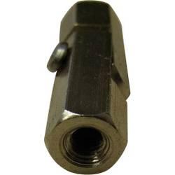 Kloubový čep, 2x vnitřní závit M3, otvor klíče 5,5 mm