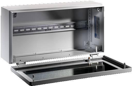 Instalační krabička Rittal BG 1559.210 1559.510, (š x v x h) 600 x 125 x 200 mm, ocelový plech, světle šedá (RAL 7035), 1 ks