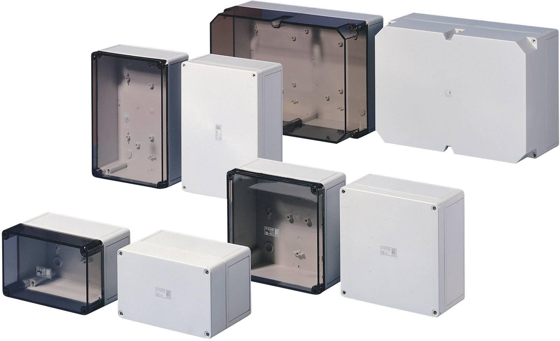 Inštalačná krabička Rittal PK 9521.000 9521.000, (š x v x h) 254 x 180 x 111 mm, polykarbonát, svetlo sivá (RAL 7035), 1 ks