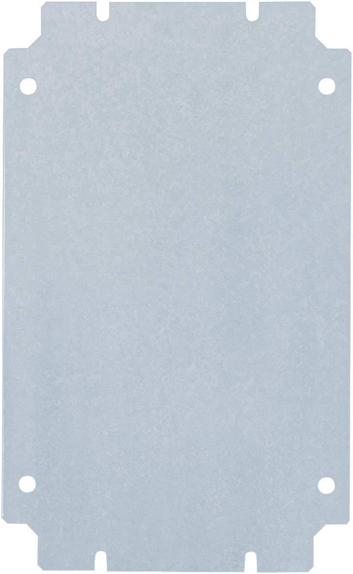 Montážna doska oceľový plech Rittal KL 1560.700, (d x š) 135 mm x 125 mm