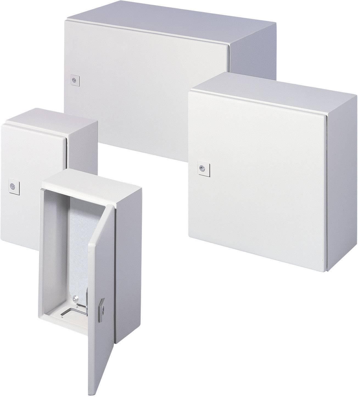 Skriňový rozvádzač Rittal AE 1033.500 1033.500, (š x v x h) 300 x 300 x 210 mm, oceľový plech, sivobiela (RAL 7035), 1 ks