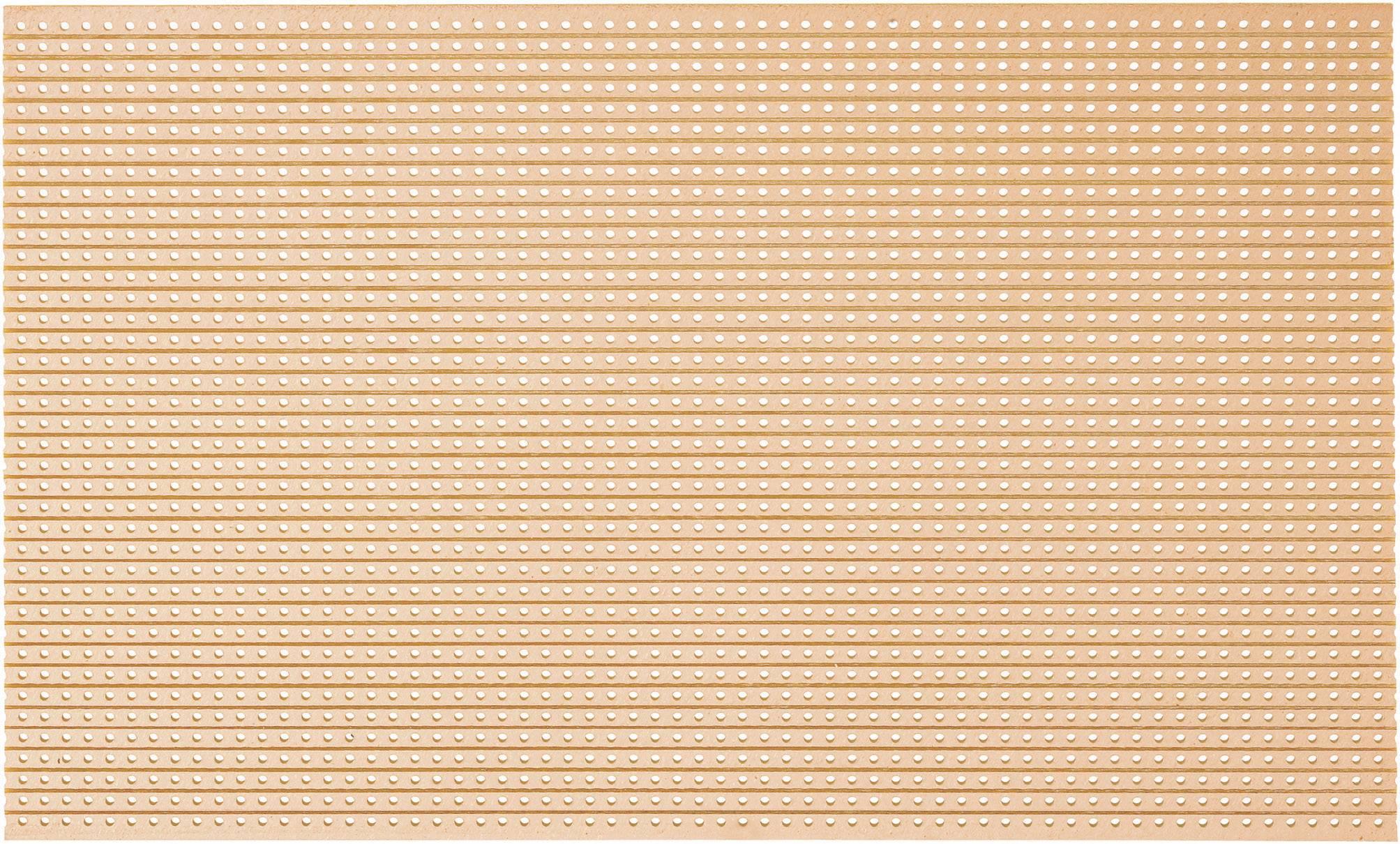 Experimentální deska s pájecími proužkyPLATTE 715 HP160 x 100