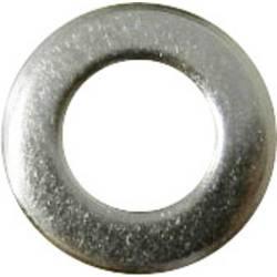 Podložka plochá TOOLCRAFT 194691, vnútorný Ø: 2.2 mm, ušľachtilá oceľ, 100 ks