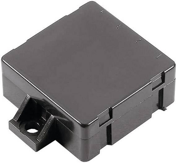 Malá modulová skříň WeroPlast, (d x š x v) 45 x 45 x 18 mm, černá