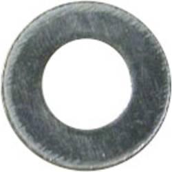 Podložka plochá TOOLCRAFT 191558, vnútorný Ø: 3.2 mm, ocel, 100 ks