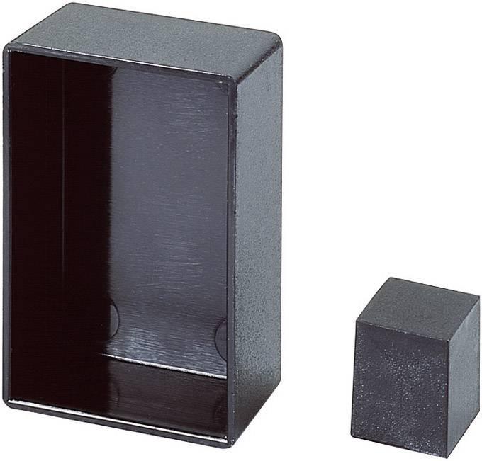 Prázdná modulová skříň OKW, (d x š x v) 21 x 12 x 21 mm, černá